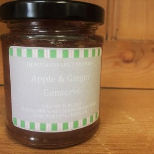 apple and ginger conserve